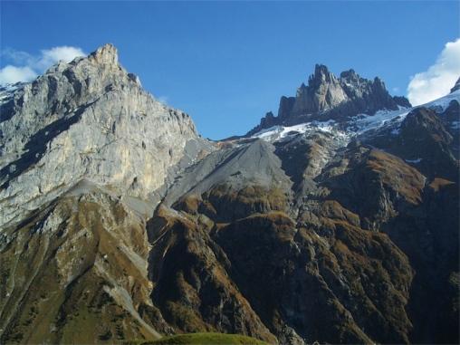 Klettersteig Fürenwand : Klettersteig fürenwand engelberg
