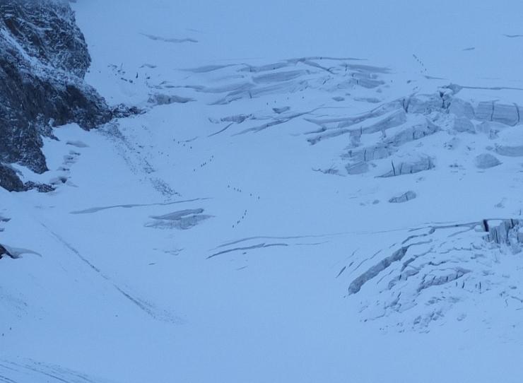 Klettersteig Piz Trovat : Piz trovat m klettersteig i