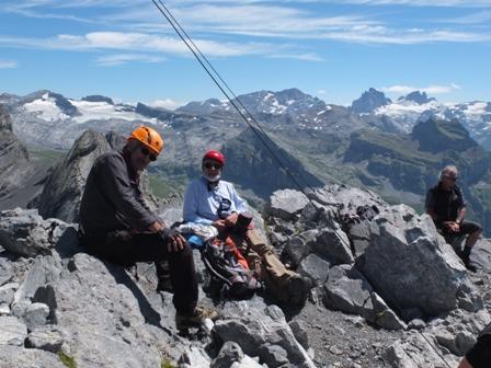 Klettersteig Rigidalstock : Rigidalstock m «klettersteig