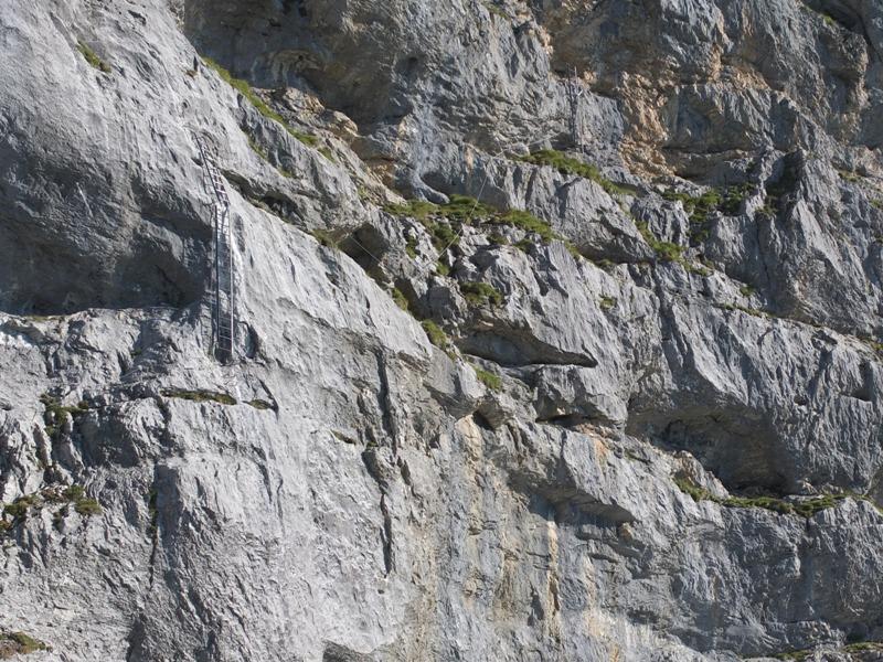 Klettersteig Tälli : Tälli .. der erste klettersteig in schweiz.