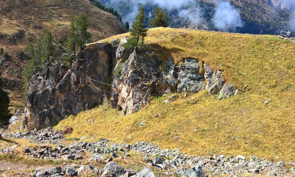 Klettersteig La Resgia : Pontresina: klettersteig la resgia i ii.